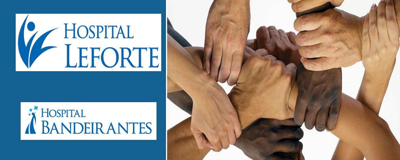 Hospitais Leforte e Bandeirantes se unificam