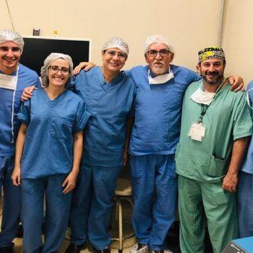 Equipe de médicos do HU, FMJ e HSVP se unem para fazer parto raro