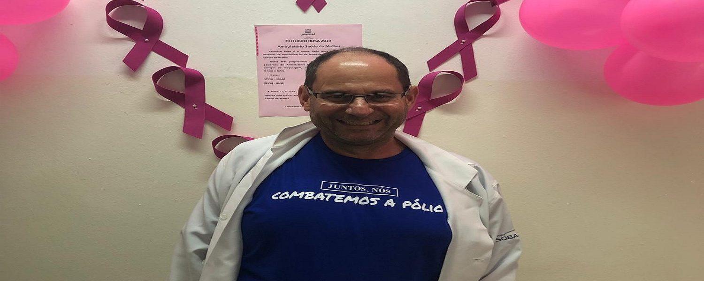Ginecologista do HU fala sobre o Dia Mundial do Combate à Pólio