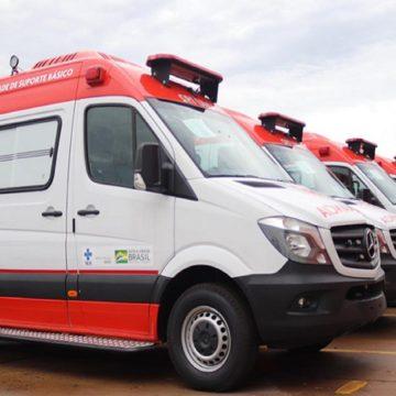 Ministério da Saúde entrega 458 novas ambulâncias do SAMU