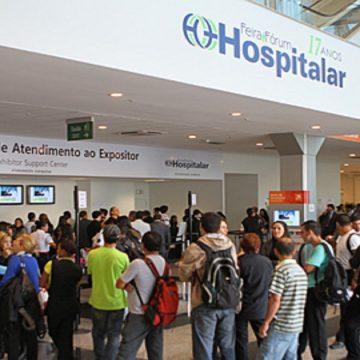 Hospitalar anuncia venda recorde de áreas de exposição