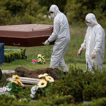 Brasil tem 615 novas mortes por coronavírus, bate recorde e se torna o 6º com mais óbitos
